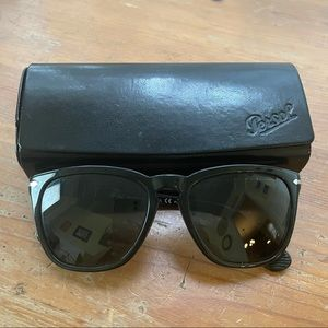 Persol Black Sunglasses with Case For Women